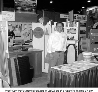 Wall Control Market Debut in 2003