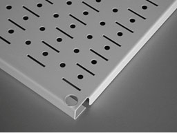 Versatile and Easy To Install Pegboard Design