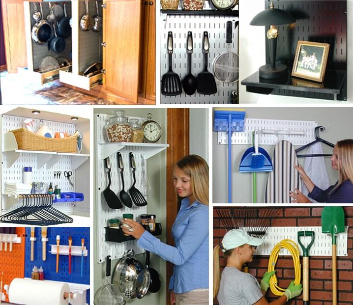 Kitchen Organization Tools: Gallery Of Home Pegboard Storage And