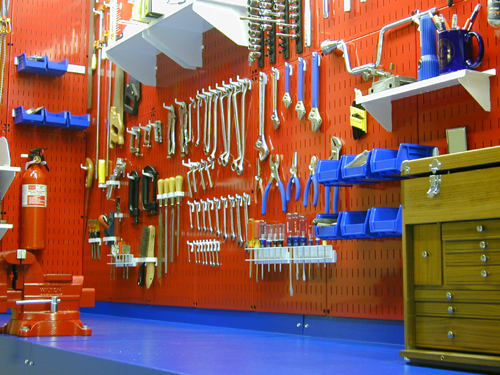 Welcome to The Wall Control Pegboard Blog!